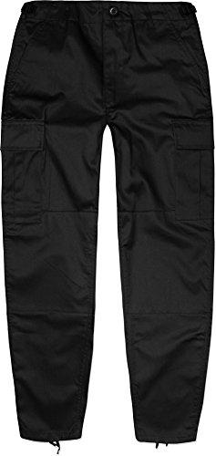 Kinder Kids Rangerhose Freizeithose Farbe Schwarz Größe L/146-152 (Hose Kinder-uniform)