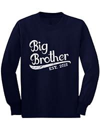 Camiseta de Manga Larga para niños - Big Brother EST 2018 - Regalo para Futuro Hermano