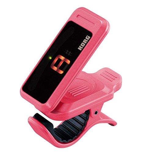 Korg Pitchclip pink | Pitch-Clip PC-1 Tuner Stimmgerät | chromatisch universal