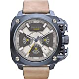 Diesel men's Quartz Watch Chronograph Display and Leather Strap DZ7342
