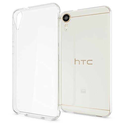 NALIA Handyhülle kompatibel mit HTC Desire 10 Lifestyle, Ultra-Slim Soft TPU Silikon Case Cover, Crystal Clear Schutzhülle Dünn Durchsichtig, Handy-Tasche Backcover Smart-Phone Hülle - Transparent