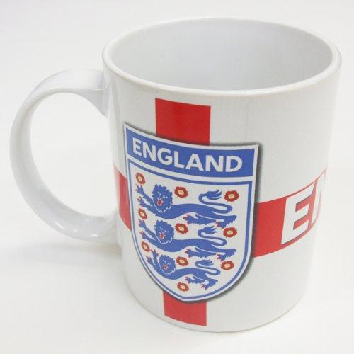 England Rugby - Tazza mug, motivo: England 3 Lions