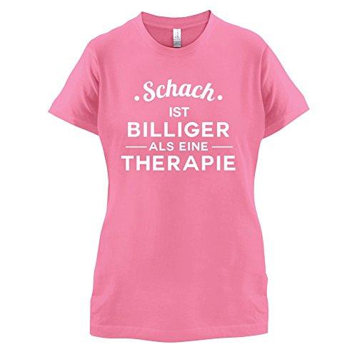 Schach ist billiger als eine Therapie - Damen T-Shirt - 14 Farben Azalee