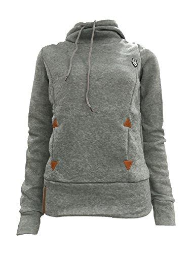 Charmley Damen Sweatshirt Grau