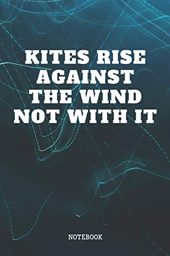 "Notebook: Funny Kite Surfing Quote / Kitesurfing Saying Kitesurfer Sports Planner / Organizer / Lined Notebook (6\"" x 9\"")"