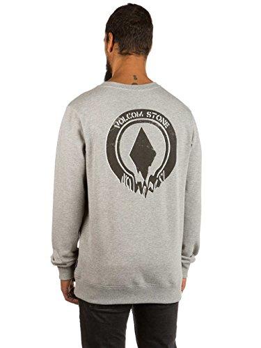 Volcom Herren Supply Stone Crew Sweatshirt Grey