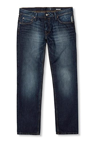 edc by ESPRIT Herren Jeanshose Blau (BLUE MEDIUM WASH 902)