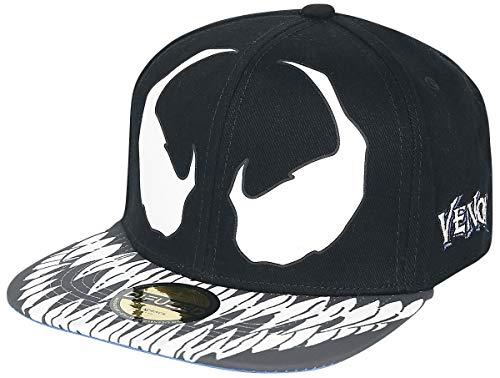 Venom (Marvel) Smile Cap schwarz/blau one Size