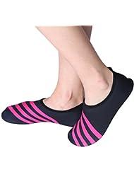 Unisex, Zapatos de Agua - Calcetínes de Buceo Descalzo Zapatos Secado Rápida Transpirable para Playa Surf Yoga Natación (37-41) ( tamaño : XXL )