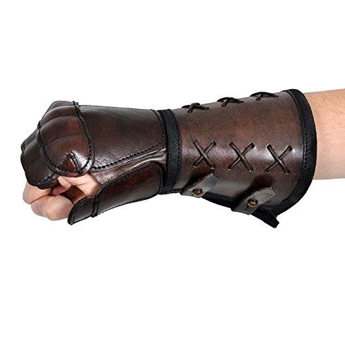 Epic Armoury 10140351 Ofenhandschuh, Unisex Adult, braun (Iron Mann Kostüm Handschuhe)