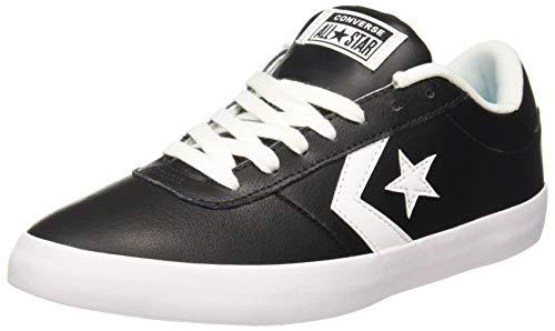Converse Unisex Black/White Sneakers - 6 UK/India (39 EU)(8907788079223)
