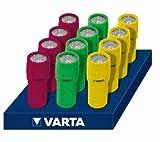 Varta Taschenlampe 9x LED Light 3AAA, im Thekendisplay VE = 12
