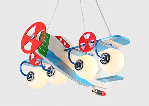 Kronleuchter zu Hause personalisierte Kronleuchte Aircraft Kronleuchter Led Creative Kinderzimmer Lichter Junge Mädchen Schlafzimmer Moderne niedliche Lampen - 3