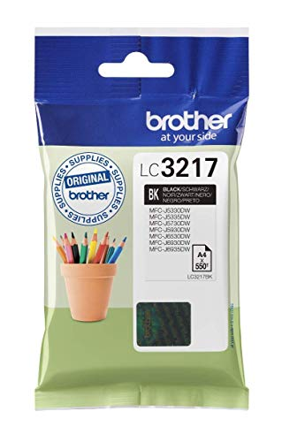 Brother LC3217BK Cartucho tinta negro original impresoras