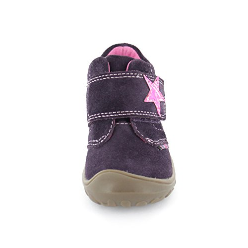 Lurchi  33-14436-29 Groby, Chaussures premiers pas pour bébé (fille) BLACKBE Violet