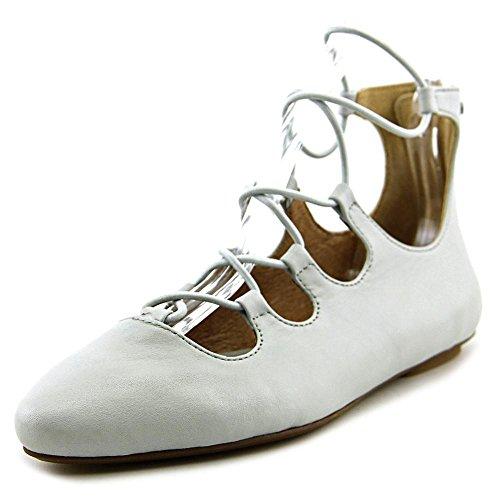 Ugg Australia Lorianna Femmes Cuir Chaussure Plate Light Grey