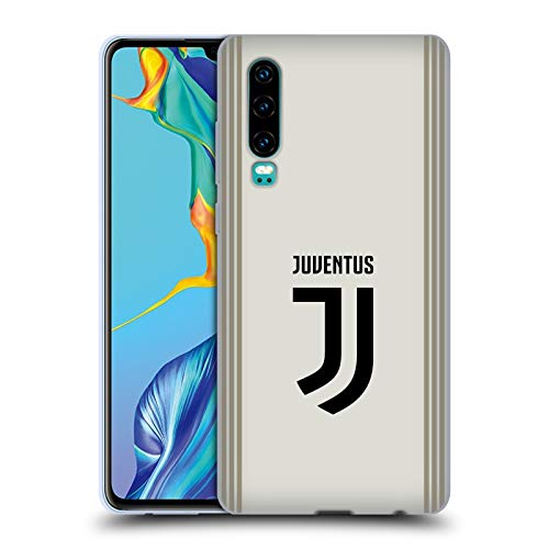 Head Case Designs Offizielle Juventus Football Club Away 2018/19 Race Kit Soft Gel Huelle kompatibel mit Huawei P30 - Soft Case Kit