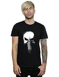 Marvel hombre Punisher Spray Skull Camiseta