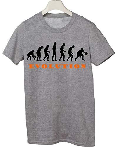 Tshirt basket evolution evoluzione pallacanestro sport - Tutte le taglie by tshirteria