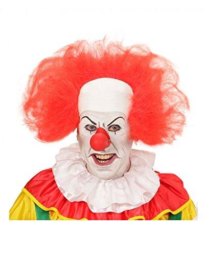 Clown Perücke mit Halbglatze (Böse Clown Perücke)