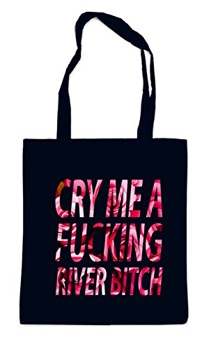 Cry me a River Roses Sac Noir