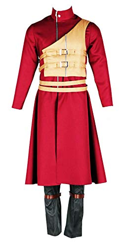 Shippuden Kostüm Gaara - Chong Seng CHIUS Cosplay Costume Outfit for Hidden Sand Village Kazekage Gaara Version 6
