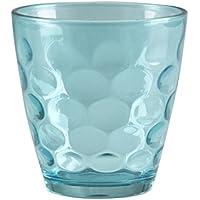 BEPER Juego de Vasos 24 Cl, Turquesa, 10x17x24 cm, 6 Unidades