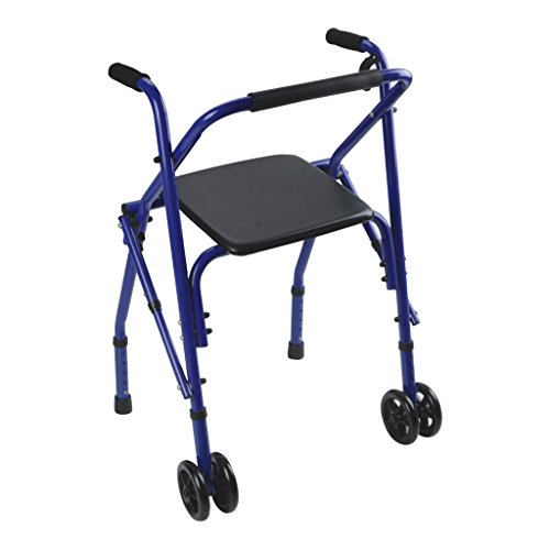 MXueei camminatore ZfgG Anziano Rollator Disabled Assisted Walker Walking Stick a Quattro Gambe