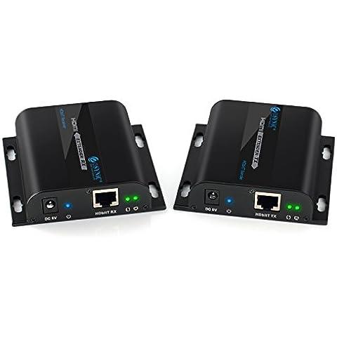 ESYNiC 120m HDbitT HDMI Extender Ethernet Network Extender 1080P su