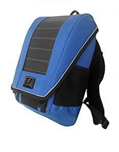Lumos unPlug Solar Backpack Blue