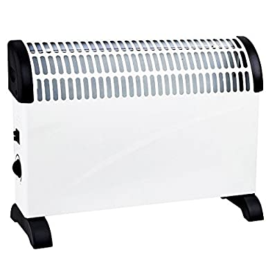 2kW Home & Office Convector Radiator Heater (Wall Mounted or Floor Standing) (White)