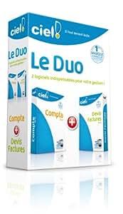 Le Duo Ciel 2012 (Ciel Compta 2012 + Ciel Devis Factures 2012)