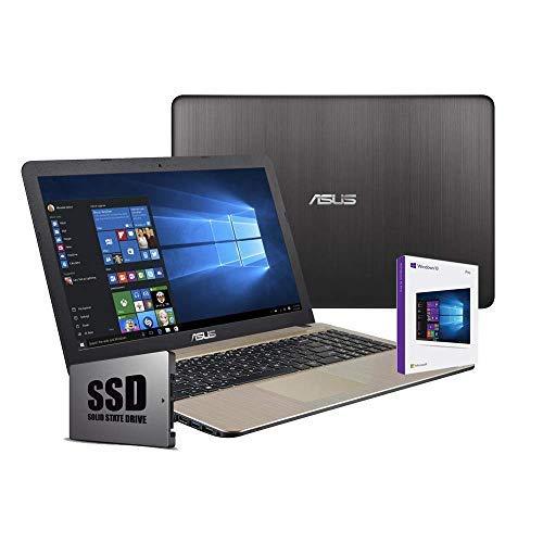 Asus VivoBook Notebook, Display 15.6 ' HD LED, Amd Dual Core 64 bit fino a 2.60Ghz 4GB RAM ddr4, Ssd...