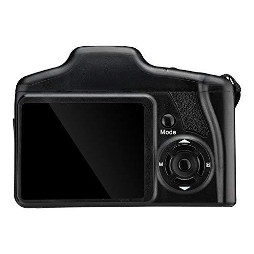 Kamera Camcorder HD-Bildschirm Digitalkamera Video Camcorder Full HD 720P Handheld Digitalkamera 16MP Max Zoom 2,4 Zoll LCD Videorecorder 720P Selfie DV-Aufzeichnung digitaler Digitalkamera (Black) Video-aufzeichnung Dv-uhr