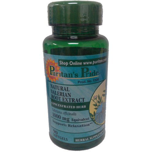 Preisvergleich Produktbild Valerian root Extrac 1000 mg 90 Softgels