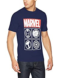Marvel Avengers Icons, T-Shirt Homme