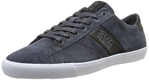 Jim Rickey  Deuce Lo Suede Leather,  Sneaker uomo Grigio Gris (Forged Iron) 40