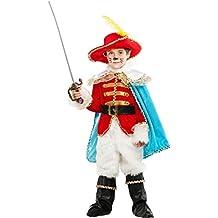 DISFRAZ EL GATO CON BOTAS LUJO vestido fiesta de carnaval fancy dress disfraces halloween cosplay veneziano party 53223