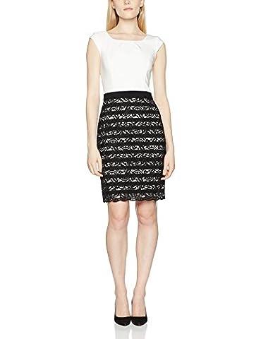 s.Oliver BLACK LABEL Damen Kleid 11703826305, Weiß (01G1), 42