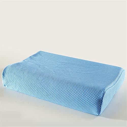 Pillow-top-king-size-matratze (KGGOPREAn Naturlatex-Gedächtnismassage-Kissen Wave Sleeping Neck Pillows Erwachsenes Schlafzimmer-Kissen 4 40x60x7x9cm)
