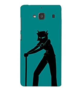 EPICCASE Devil boy Mobile Back Case Cover For Mi Redmi 2s (Designer Case)