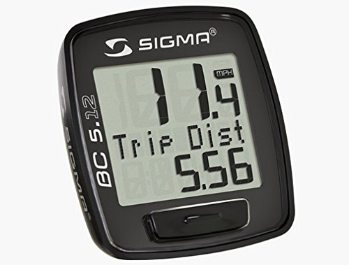 Sigma Sport Fahrradcomputer BC 5.12, 05120 - 3