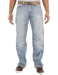 HOMMES JEANS HEAVY DUTY des pantalons de travail PLAIN