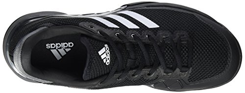 adidas Barricade 2017 Clay, Chaussures de Tennis Homme Noir (Core Black/night Metallic/footwear White)