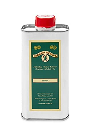 Holzöl Hartöl farblos für innen 250ml Pflegeöl für Möbel Tisch