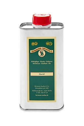 Holzöl Hartöl farblos für innen 250ml Pflegeöl für Möbel Tisch Arbeitsplattenöl Eiche Wildeiche Kernbuche Buche Nussbaum Kiefer Leinöl-Holzschutz zum Holz Ölen