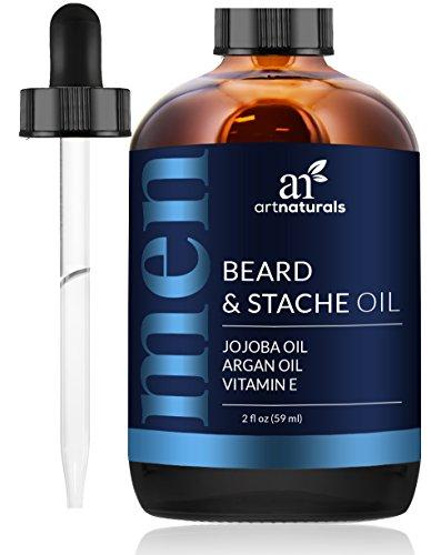 ArtNaturals Aceite Para Barba y Acondicionador - 60ml - Orgánico 100 Puro,...