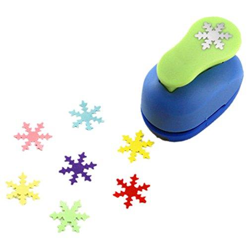 Zoll Papier locher paper punch- Snowflake ()