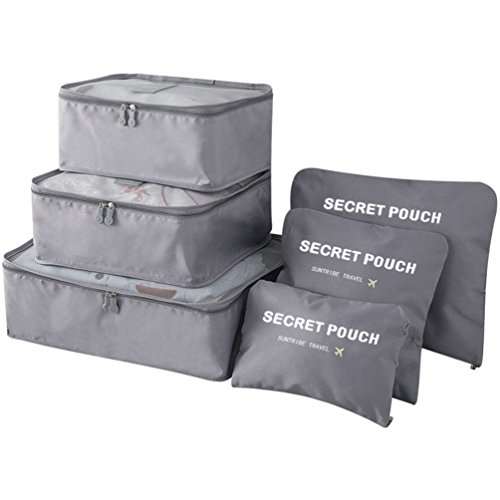 Eterycle - Organizador para maletas gris gris