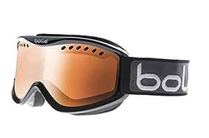 Bollé Sun Protection Carve  Outdoor Skiing Goggle available in Shiny Black/Vermillion Gun - Medium